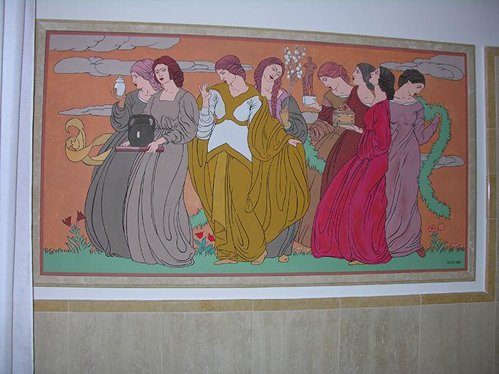 Pannello decorativo stile art dec - Pannello decorativo ...